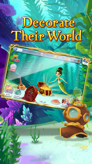 Mermaid World - iPhone Mobile Analytics and App Store Data