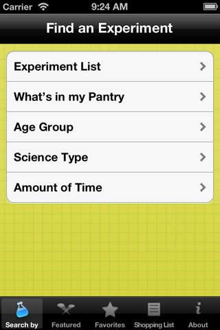 KidScience Screenshot