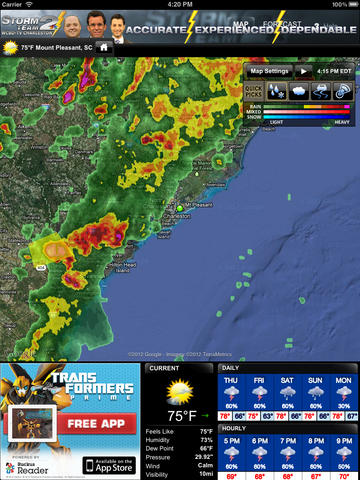 WCBD-TV Weather for the iPad