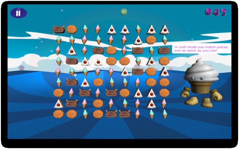 Dessert Storm Free Screenshot - 2