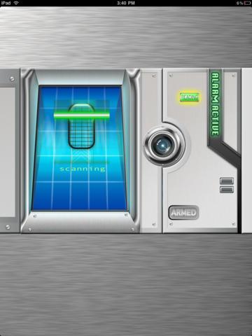 Fingerprint Alarm Scanner HD