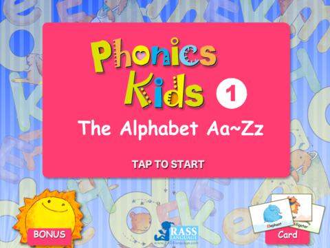 Phonics Kids 1 - The Alphabet Aa - Zz
