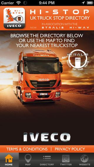 IVECO Hi-Stop UK Truckstop Directory