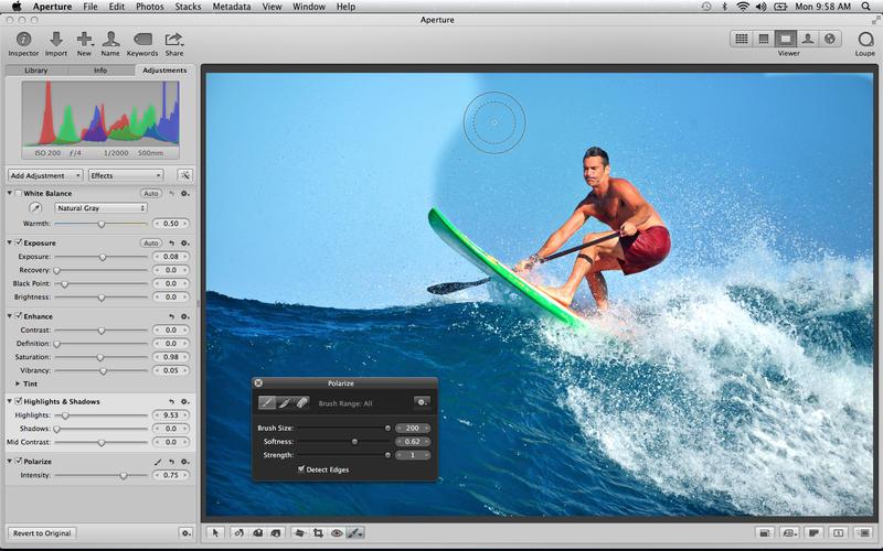 Aperture 苹果官方图片处理软件 for Mac