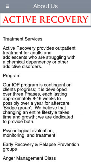 Active Recovery-Shreveport