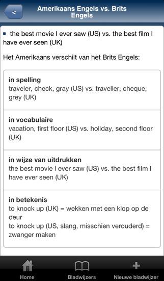 Schrijfhulp Engels iPhone Screenshot 3