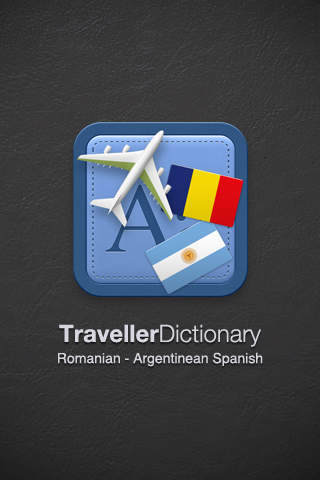 Traveller Dictionary and Phrasebook Romanian - Argentinean Spanish