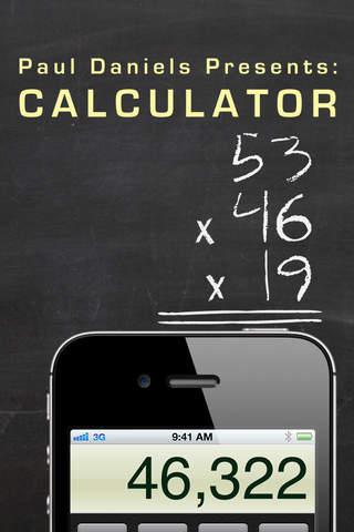 Paul Daniels Calculator