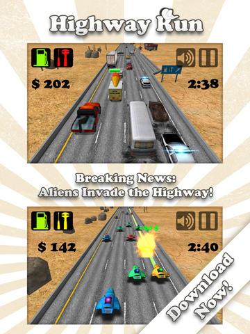免費遊戲App Highway Run 阿達玩APP