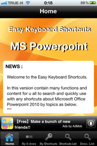 Easy Keyboard Shortcuts for Microsoft PowerPoint