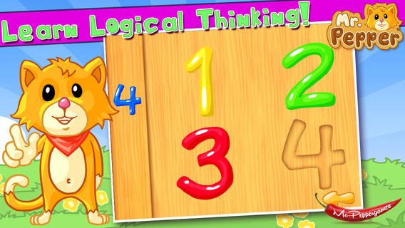 AAAmazing Shapes Puzzle - PREMIUM EDITION of Mr. Pepper's puzzles for kids and toddlers
