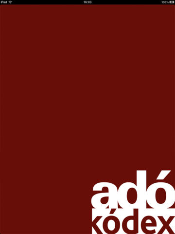 Adó-kódex