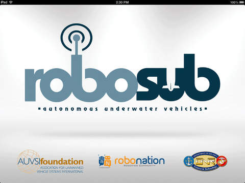 RoboSub Competition for iPad