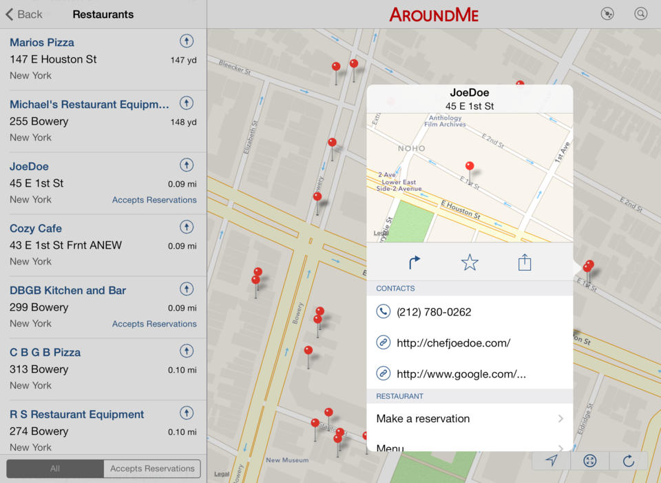 AroundMe - iPhone Mobile Analytics and App Store Data
