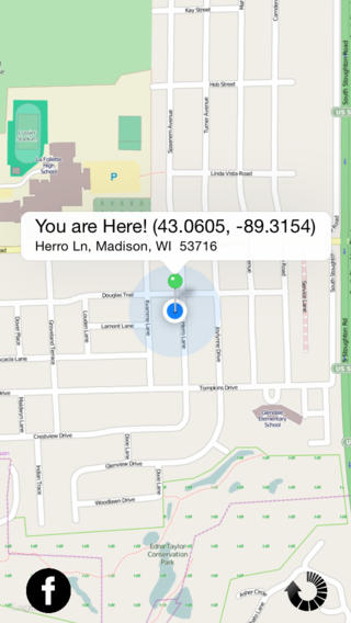 Where Am I - Share your Location
