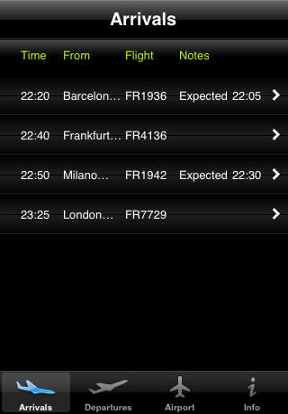 Aviation - Skavsta iPhone Screenshot 1
