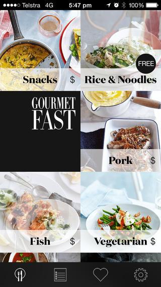 Gourmet Fast