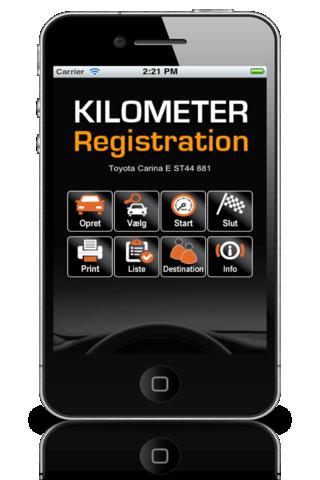 Kilometer Registrering