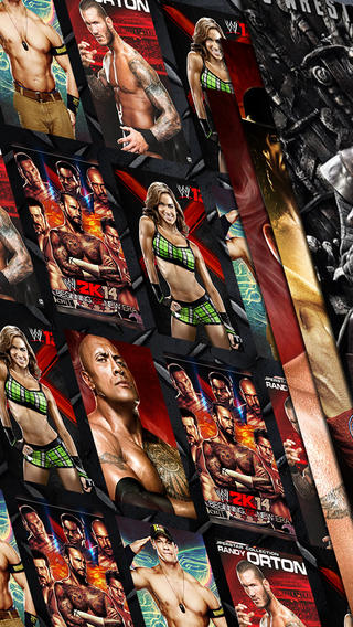 wallpapers for wwe 2k14 set lock screen on the app store