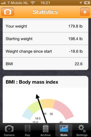 WeightPhoto screenshot 4