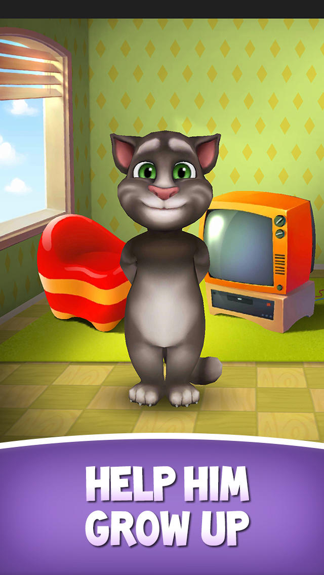 Image of My Talking Tom for iPhone