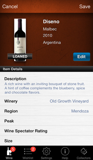 Wine Collectors: Manage and Inventory your Collection (for any wine collector or manager)