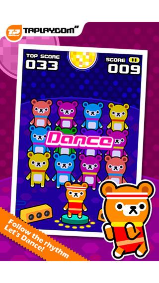 甜甜圈之舞:Donut Dance – Tappi Bear【记忆游戏】