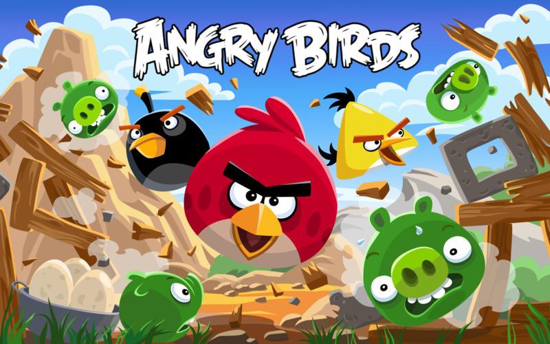 Angry Birds Screenshot - 1