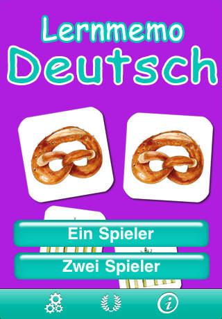 Memory Match – German