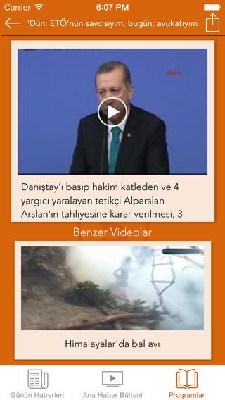 SHaber TV iPhone Screenshot 4
