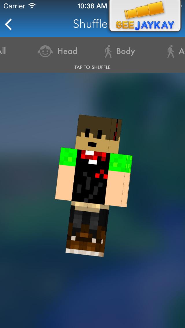 Easy Skin Shuffle Pro for Minecraft - Quick Skins Shuffler! screenshot 3