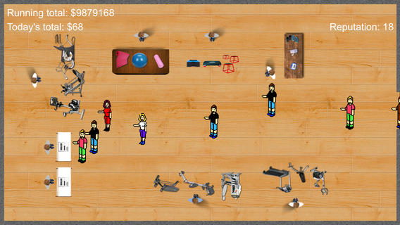Exercise Shop Tycoon