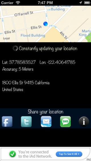 GPS Sharing Lite
