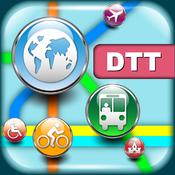 底特律(美国)地图 – 下载智能公交地图和旅游指南 [iOS]