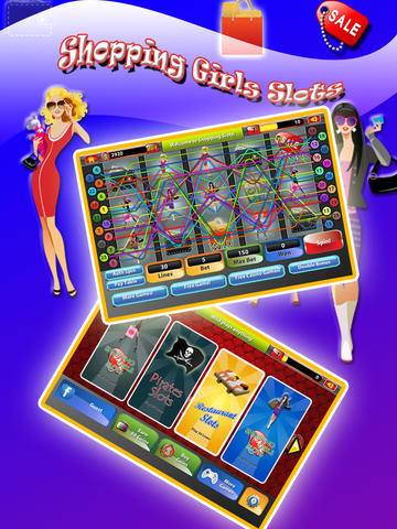 Shopping Slots Fashion Style Addict Big Spender Fun Free Casino Games App App