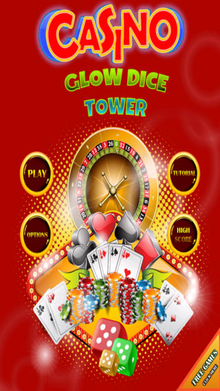 Casino Glow Dice Tower FREE