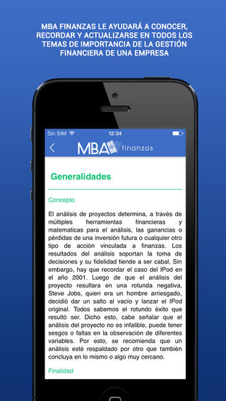 MBA Finanzas