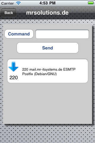 MailDebug iPhone Screenshot 4