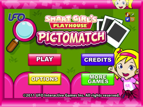 Smart Girl's Playhouse PictoMatch HD