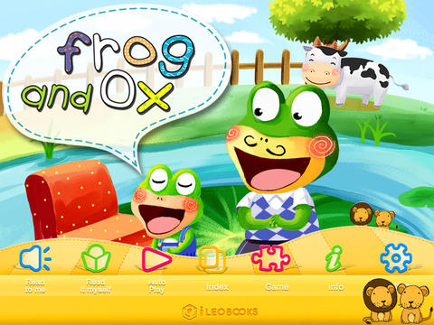 Ox & Frog-iLeoBooks