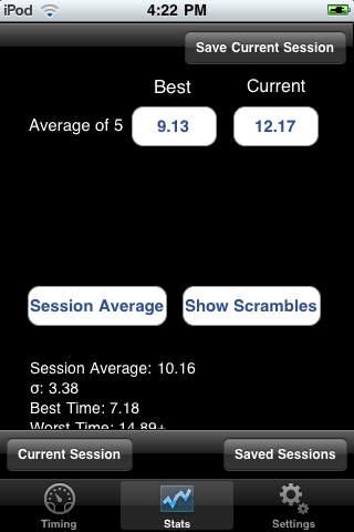 iiTimer iPhone Screenshot 2