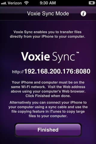 Voxie Pro Recorder