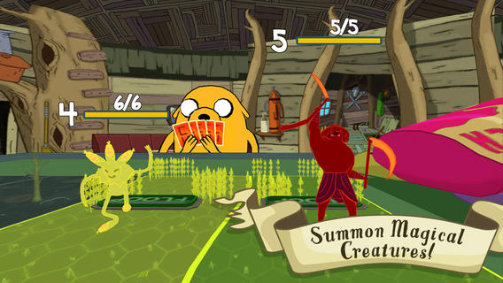 Screenshot Card Wars – Adventure Time