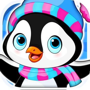 Arctic Penguin in the Frozen Ice Cream Fall-ing Hunt Pro Game LOGO-APP點子