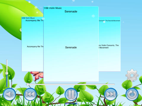 violin music(lite) screenshot