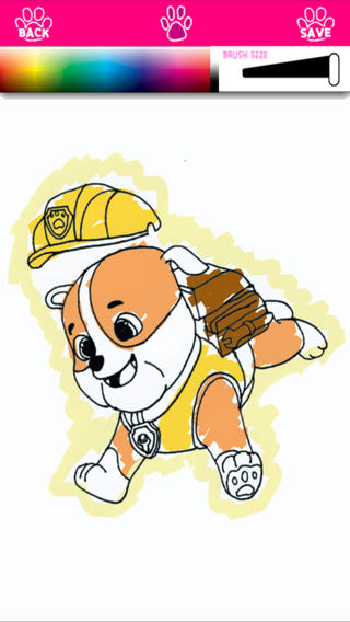 Kids Coloring For Paw Patrol The Puppy Edition