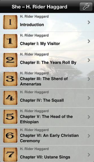 She – H. Rider Haggard