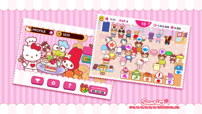 Hello Kitty Cafe! - iPhone Mobile Analytics and App Store Data