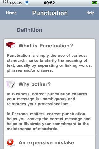 Punctuate! iPhone Screenshot 5
