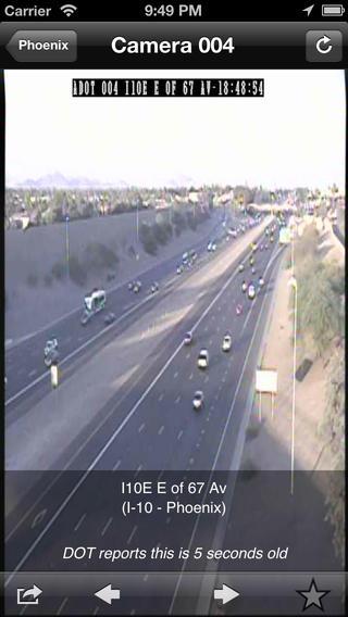 AZ Traffic iPhone Screenshot 5